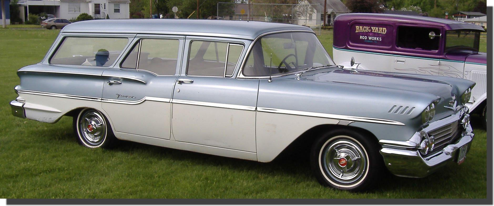 In 1958, Chevy introduced 5