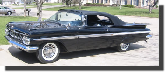 59 chevy impala restore for pinterest
