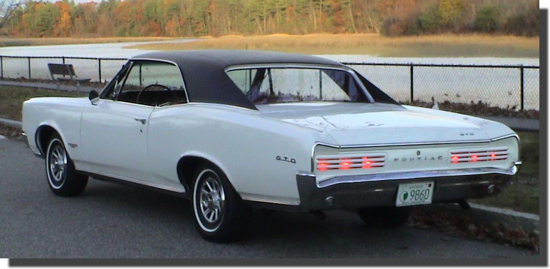 1966 Pontiac GTO  Hubcaps