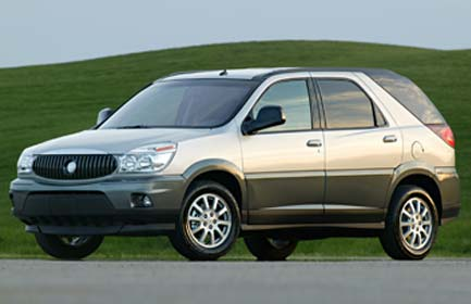 The Buick Rendezvous was introduced to the public in 2001 as the 2002 model;