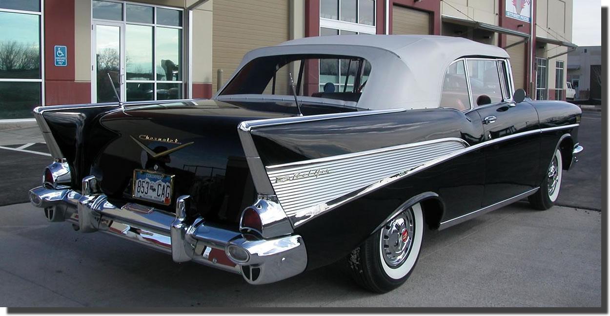 1957 Chevrolet Bel Air Convertible… - Hubcaps