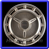 Chevrolet Chevy 2 Hubcaps #3011A