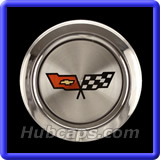 Chevrolet Corvette Center Caps #CHVC58B