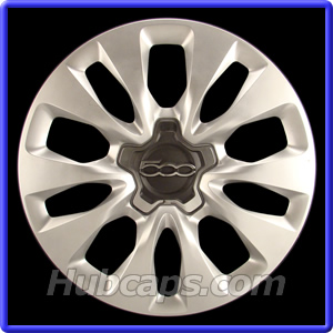 fiat 500 hub caps, center caps and wheel covers - hubcaps