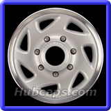 Ford F350 Truck Hubcaps #7020