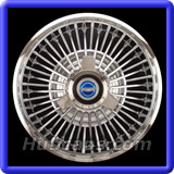Ford Fairlane Hubcaps #610