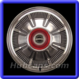 Ford Galaxie Hubcaps #602