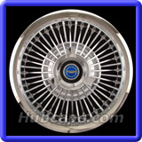 Ford Galaxie Hubcaps #972