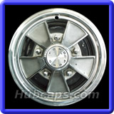 Ford Mustang Hubcaps #612