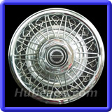 Ford Mustang Hubcaps #831B