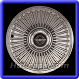 Ford Thunderbird Hubcaps #817