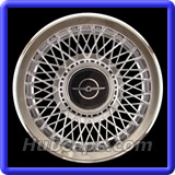 Ford Thunderbird Hubcaps #829A