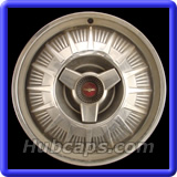 Ford Thunderbird Hubcaps #AC5