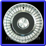 Lincoln Continental Hubcaps #LIN58