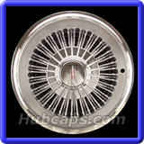 Oldmobile Classic 1967 - 1979 Hubcaps #4034
