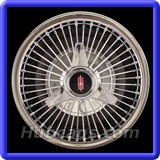 Oldmobile Classic 1950 - 1966 Hubcaps #4994