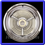 Oldmobile Classic 1950 - 1966 Hubcaps #OLS53-55